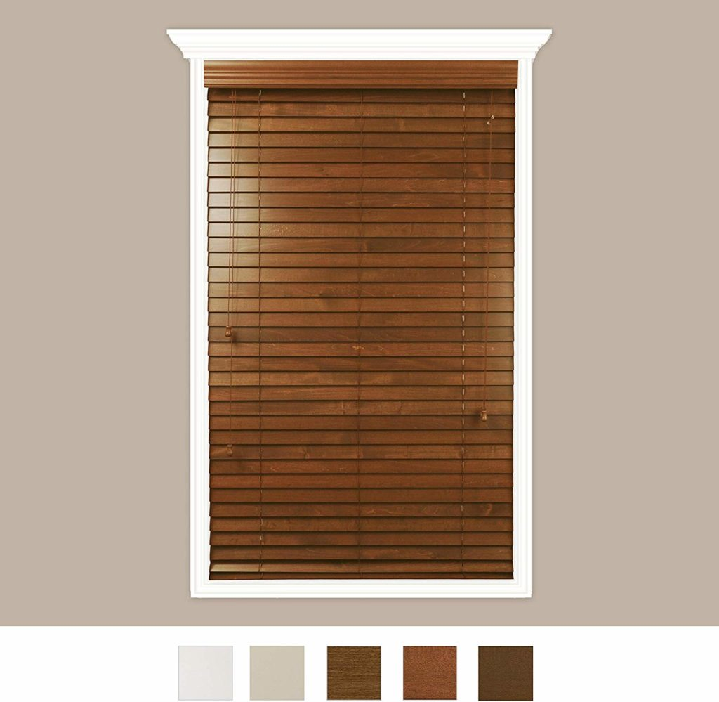 Luxr Blinds Custom-made real wood - best value noise soundproof blinds for the money