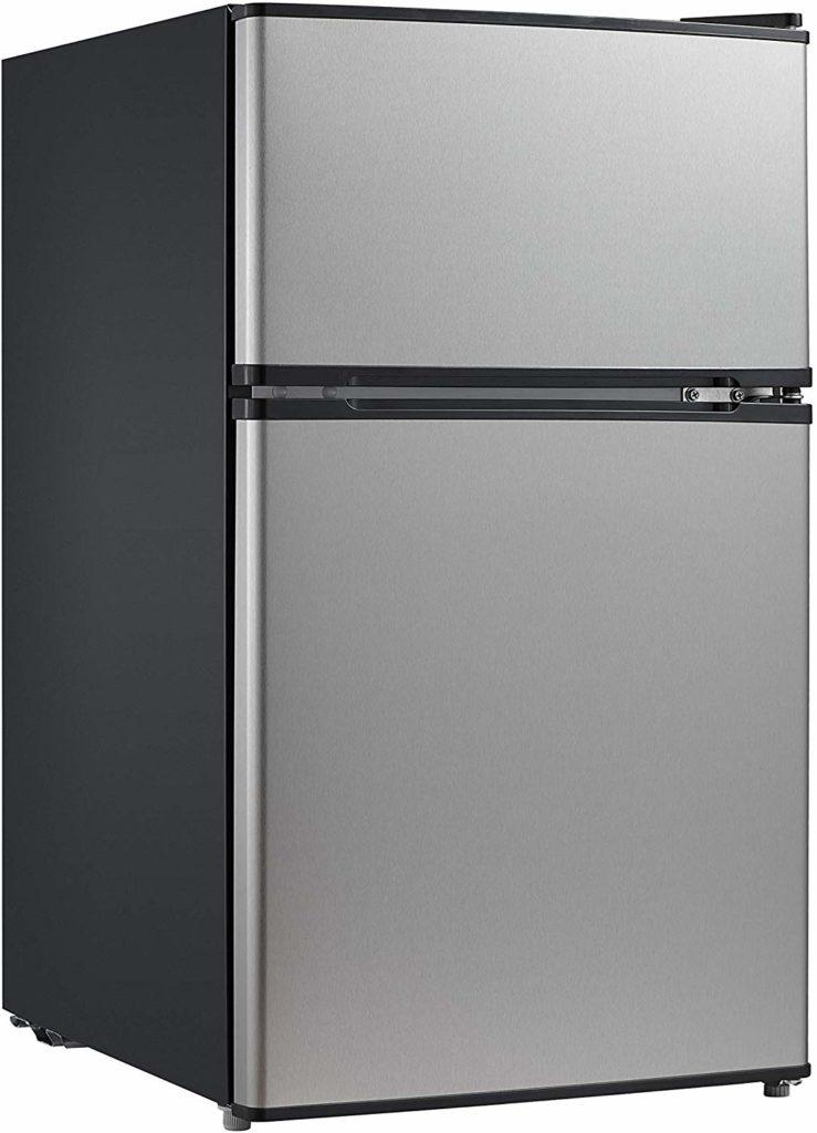 Midea double door mini fridge - quiet fridge